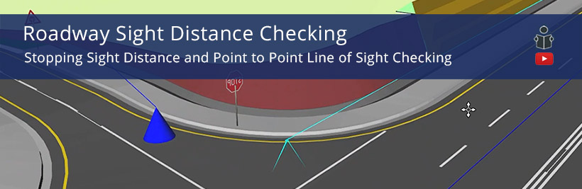 Sight Distance Checking for Road Design